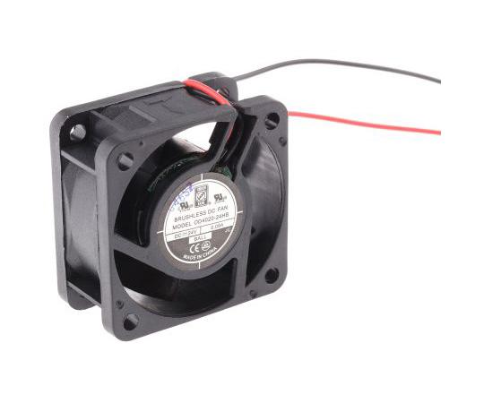 RS PRO Axial Fan, 40 x 40 x 20mm, 9cfm, 2.2W, 24 V dc 541-5160