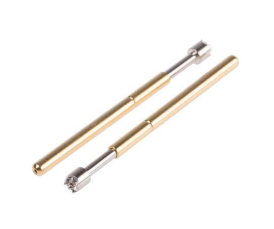 RS PRO 2.54mm Pitch Spring Test Probe With Serrated Tip, 3A 542-4962