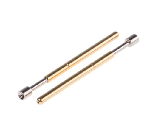 RS PRO 2.54mm Pitch Spring Test Probe With Concave Tip, 3A 542-4984