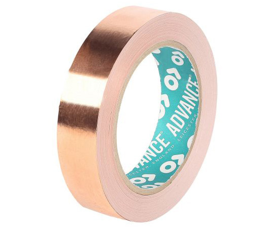 Advance Tapes AT526 Conductive Copper Tape, 19mm x 33m 212880