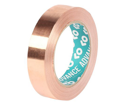 Advance Tapes AT528 Conductive Copper Tape, 25mm x 33m 231997