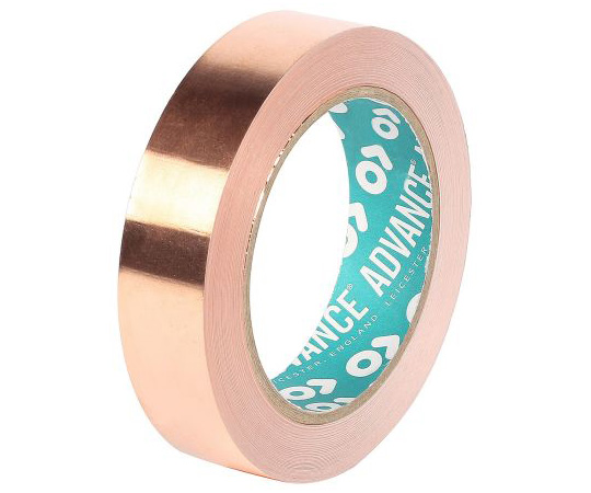 Advance Tapes AT525 Non-Conductive Copper Tape, 50mm x 33m 212866