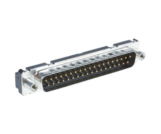 Amphenol FCI Delta D Series, 37 Way Through Hole PCB D-sub Connector Plug, 2.76mm Pitch D37P24A4GV00LF