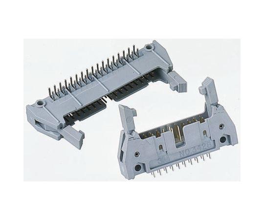 3M 3000, 14 Way, 2 Row, Right Angle PCB Header N3314-5302RB