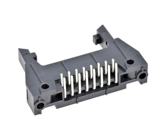 3M 3000, 16 Way, 2 Row, Right Angle PCB Header N3408-5302RB