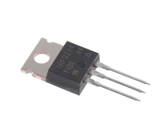 IRF9Z14PBF P-Channel MOSFET, 6.7 A, 60 V, 3-Pin TO-220AB Vishay IRF9Z14PBF