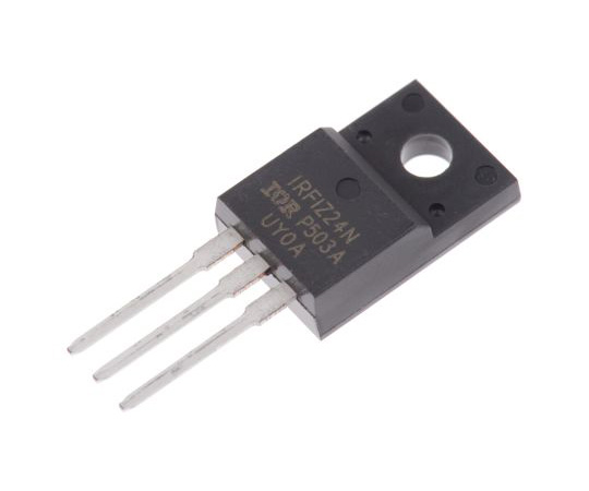 [Discontinued]IRFIZ24NPBF N-Channel MOSFET, 14 A, 55 V HEXFET, 3-Pin TO-220 Infineon IRFIZ24NPBF