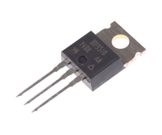 IRF9510PBF P-Channel MOSFET, 4 A, 100 V, 3-Pin TO-220AB Vishay IRF9510PBF