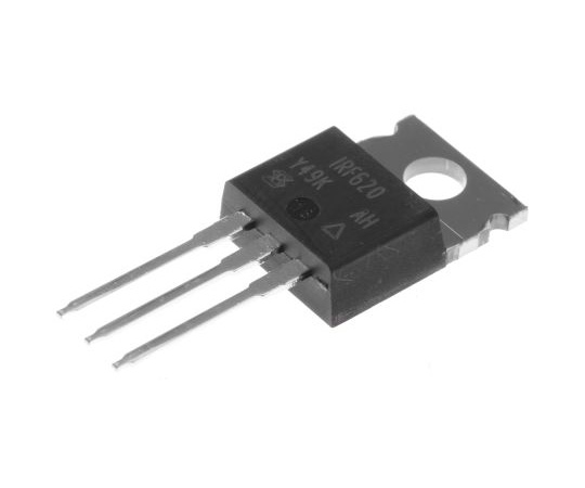 IRF620PBF N-Channel MOSFET, 5.2 A, 200 V, 3-Pin TO-220AB Vishay IRF620PBF