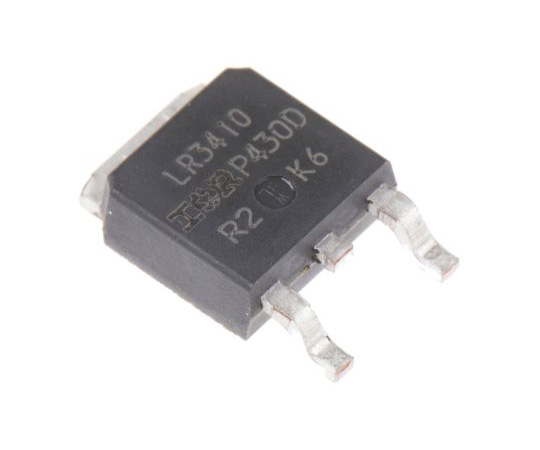 [Discontinued]IRLR3410PBF N-Channel MOSFET, 17 A, 100 V HEXFET, 3-Pin DPAK Infineon IRLR3410PBF
