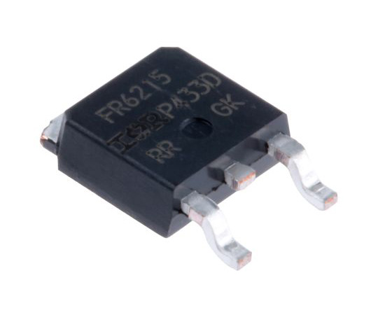 [Discontinued]IRFR6215PBF P-Channel MOSFET, 13 A, 150 V HEXFET, 3-Pin DPAK Infineon IRFR6215PBF