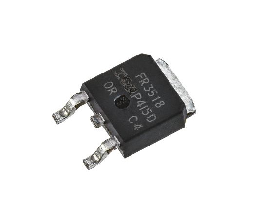 [Discontinued]IRFR3518PBF N-Channel MOSFET, 38 A, 80 V HEXFET, 3-Pin DPAK Infineon IRFR3518PBF