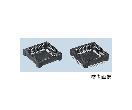Yamaichi 1.27mm Pitch Female PLCC Socket, 68 Way SMT, Tin Bismuth Alloy Plated Contacts 1A IC160Z-0684-300