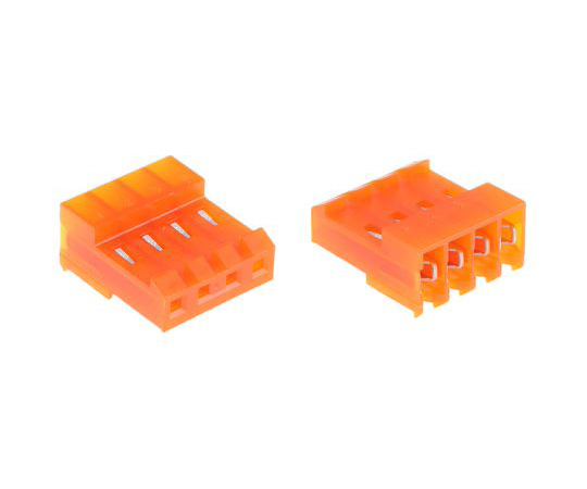 TE Connectivity MTA-156 Series 3.96mm Pitch Right Angle Cable Mount IDC Connector, Socket, 4 Way, 1 Row 3-640426-4