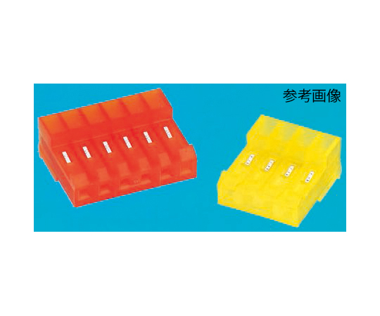 TE Connectivity MTA-156 Series 3.96mm Pitch Right Angle Cable Mount IDC Connector, Socket, 6 Way, 1 Row 3-640427-6