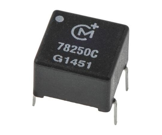 [Discontinued]1:1 Through Hole Telecom Transformer, 2mH, 1Ω 78250C