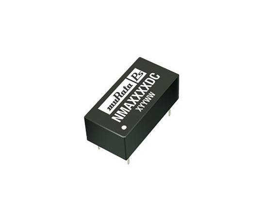 [Discontinued]Murata Power Solutions NMA 1W Isolated DC-DC Converter Through Hole, Voltage in 10.8 → 13.2 V dc, Voltage out NMA1215DC