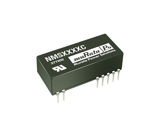Murata Power Solutions NMS 2W Isolated DC-DC Converter Through Hole, Voltage in 10.8 → 13.2 V dc, Voltage out NMS1215C