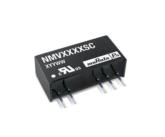 Murata Power Solutions NMV 1W Isolated DC-DC Converter Through Hole, Voltage in 4.5 → 5.5 V dc, Voltage out ±12V NMV0512SC