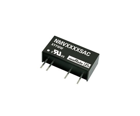 Murata Power Solutions NMV 1W Isolated DC-DC Converter Through Hole, Voltage in 4.5 → 5.5 V dc, Voltage out 5V dc NMV0505SAC