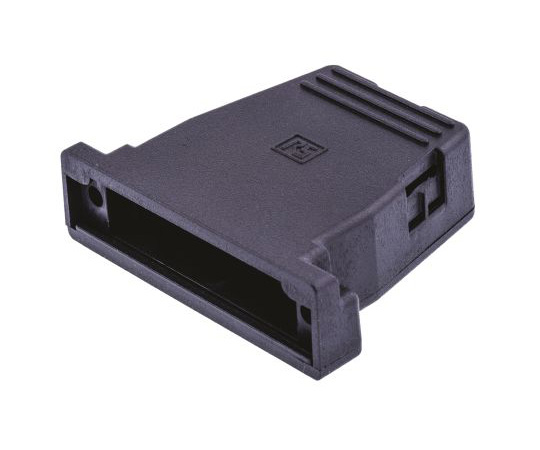 RS PET D-sub Connector Backshell, 25 Way, Strain Relief 544-3430