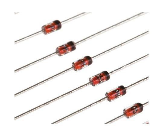 [Discontinued]Nexperia, 5.1V Zener Diode 5% 500 mW Through Hole 2-Pin DO-35 BZX79-C5V1,113