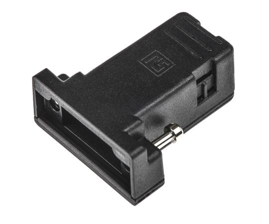 [Discontinued]RS PET D-sub Connector Backshell, 9 Way 544-4023