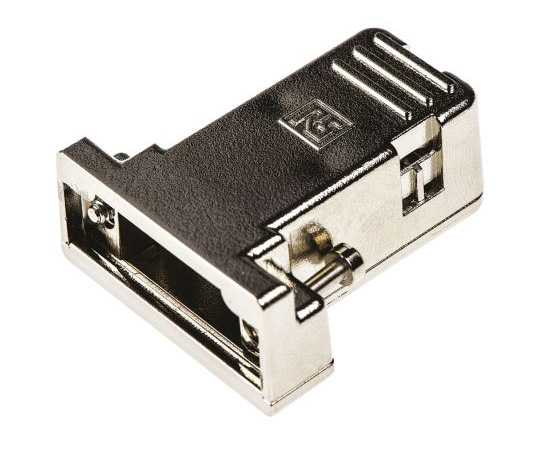 RS Pro ABS D-sub Connector Backshell, 9 Way, Strain Relief 544-4039