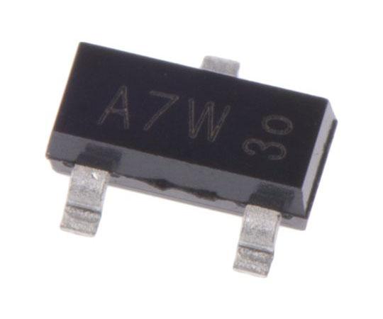 Nexperia 100V 215mA, Dual Silicon Junction Diode, 3-Pin SOT-23 BAV99,215 BAV99,215