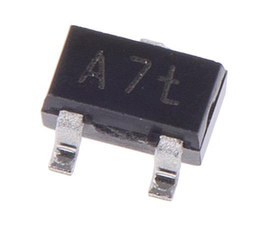 Nexperia 100V 150mA, Dual Silicon Junction Diode, 3-Pin SOT-323 BAV99W,115 BAV99W,115