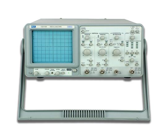[取扱停止]アナログオシロスコープ 2CH 100MHz  CQ6103