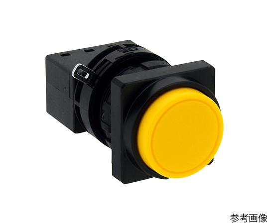 Φ22LWシリーズ押ボタンスイッチ角丸形(突形ボタン)  LW3B-A2C2MY