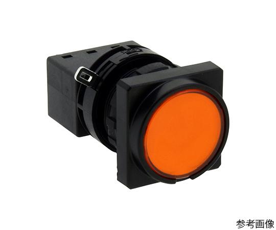 Φ22LWシリーズ押ボタンスイッチ角丸形(平形ボタン)  LW3B-M1C3VLA