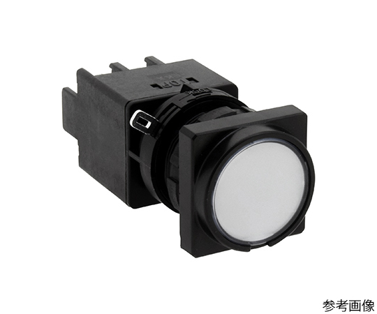 Φ22LWシリーズ押ボタンスイッチ角丸形(平形ボタン)  LW3B-M1C3VLW
