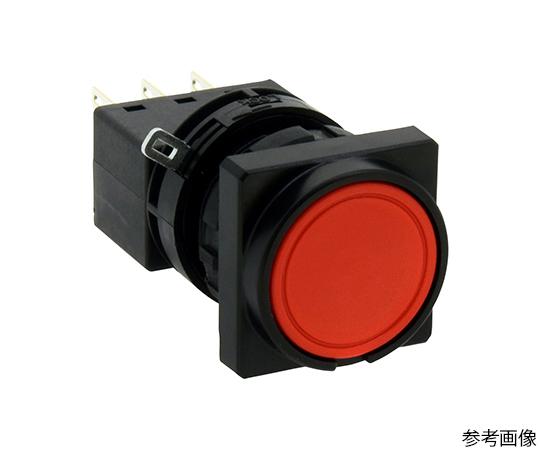 Φ22LWシリーズ押ボタンスイッチ角丸形(平形ボタン)  LW3B-M1C3VR