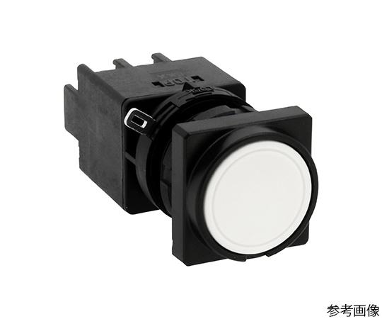 Φ22LWシリーズ押ボタンスイッチ角丸形(平形ボタン)  LW3B-M1C6W