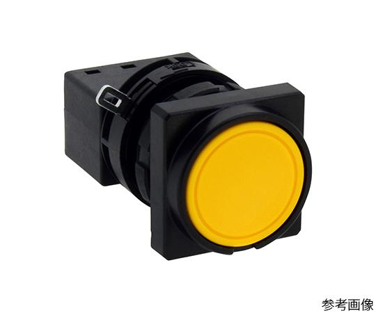 Φ22LWシリーズ押ボタンスイッチ角丸形(平形ボタン)  LW3B-M1C7Y