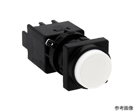 Φ22LWシリーズ押ボタンスイッチ角丸形(突形ボタン)  LW3B-M2C1VW
