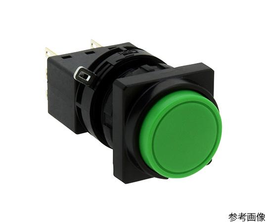 Φ22LWシリーズ押ボタンスイッチ角丸形(突形ボタン)  LW3B-M2C6MG