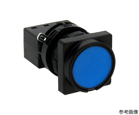 LWシリーズ照光押ボタンスイッチΦ22(角丸形平形レンズLED)モメンタリ形  LW3L-M1C34S