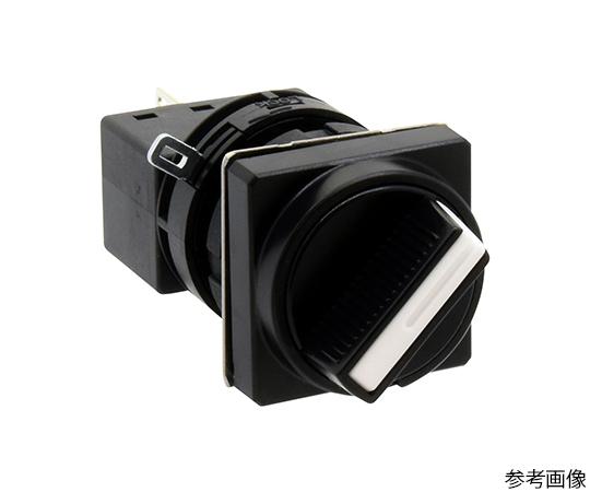 Φ22HWシリーズセレクタスイッチ(角丸形)  LW3S-2C7