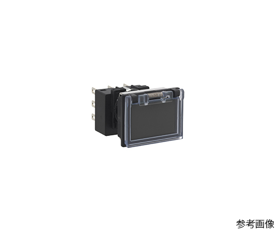 押しボタンスイッチ LB8Gシリーズ ボタン色 黒  LB8GB-M1T1VB