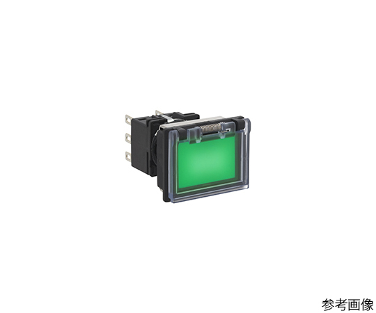 押しボタンスイッチ LB8Gシリーズ ボタン色 緑  LB8GL-M1T13G