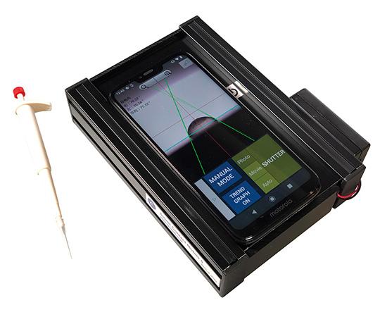 携帯自動接触角計 SimageMobile5シリーズ レンタル