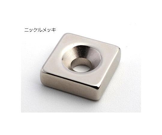 Custom-made Neodymium Magnet (square shape with Countersunk)