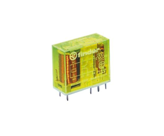 Finder50 Series DPDT Non-Latching Relay PCB Mount, 60V dc Coil, 8A 50.12.9.060.1000