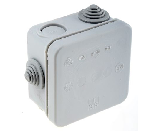 Spelsberg HP Junction Box, IP55, 75mm x 75mm x 42mm 320-970-01