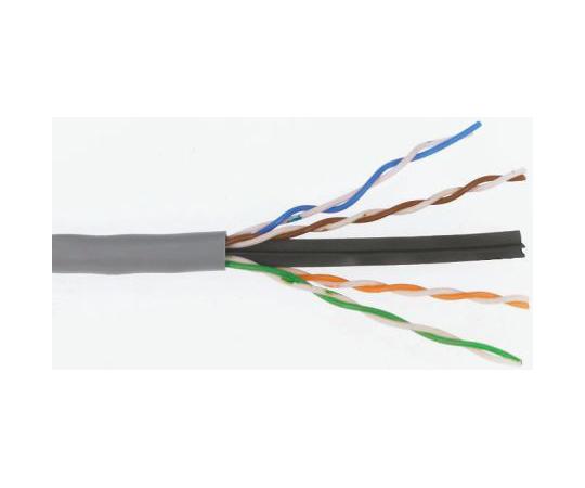 Molex Premise Networks Grey Cat6 Cable U/UTP PVC Unterminated/Unterminated, 305m CAA-00302