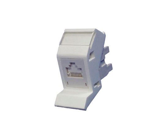 Molex Premise Networks Angled Cat6 RJ45 Modular Outlet,With FTP Shield Type MGB-00003-02 SINGLE