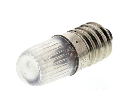 T10 Red Filament Indicator Lamp, E10, 220/250 V 2.6 mA 104-749